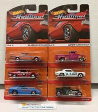 Complete 6 Car Set * REDLINE * Hot Wheels 2015 Heritage Cyclone Skyline * H26