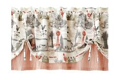 Better Homes and Gardens Farmhouse Window Valance NEW
