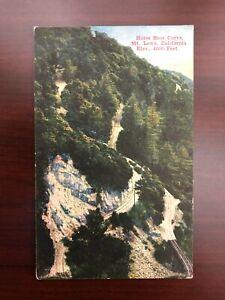 US Postcard Horseshoe Curve, Mt. Lowe, California Unposted