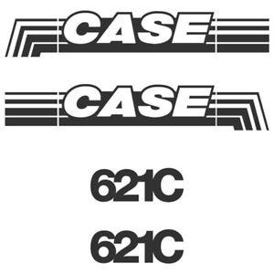 Decal Sticker Set Case 621C Loading Shovel Decal Set