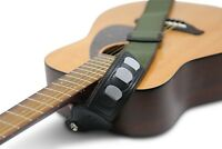 """Guitar Strap Cotton, Adjustable 59"""" to 36"""" and  2"""" Wide with 3 Pick Holders"""