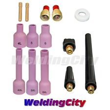 "TIG Welding Gas Lens Accessory Kit (1/16"") for Torch 9/20/25 T39A 