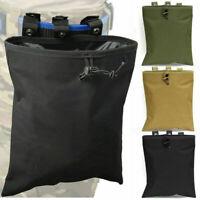 Outdoor Molle Tactical Magazine DUMP Drop Pouch Utility Gun Ammo Bag Pouch US