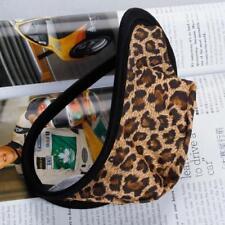 Tanga de Leopardo Marrón C-string Ropa Interior Invisible de Moda Hombres