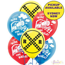 THOMAS THE TANK ENGINE PARTY SUPPLIES 6 LATEX BALLOONS TRAIN DECORATIONS