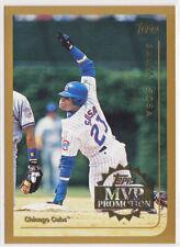 Sammy Sosa RARE 1998 1999 Topps MVP Promotion Unused Sweepstakes Card 1 of 100