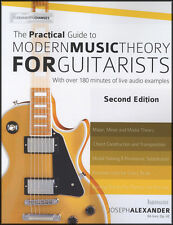 Le guide pratique de la musique moderne théorie pour guitaristes Guitar Tab Book/Audio