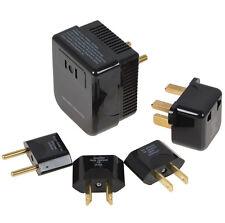4 in 1 US/UK/EU/AU AC 220/240V to 110/120V Converter and Plug Set Adapter