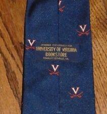 University of Virginia UVA Cavs Cavaliers tie necktie bookstore exclusive