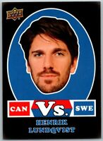2017-18 UD CANADIAN TIRE HENRIK LUNDQVIST Vs. Black Insert Card # VSB-HL Sweden