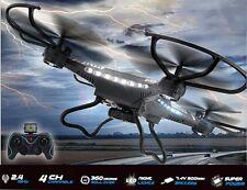 JJRC H8C DFD F183 2.4G 4CH 6 Axis Gyro RC Quadcopter 2MP Camera LED RTF Drone