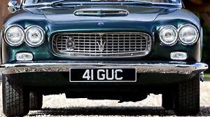 4x Faro Maserati Sebring 3500 Gti Khamsin Renovación US Ue Conversión E Prüfze