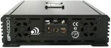 Massive Audio Bp4000.1 Blade Series. 4000 Watts, 2 Ohm Stable Car Mono Amplifier