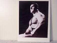 P323 The Living Legend Bruno Sammartino signed 16x20 w/Coa Museum