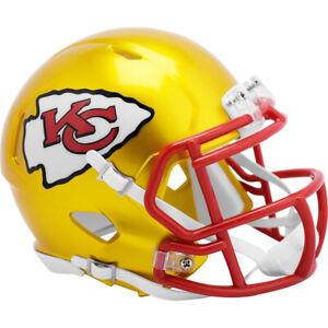 Kansas City Chiefs NFL Flash Alternate Revolution Speed Mini Helmet