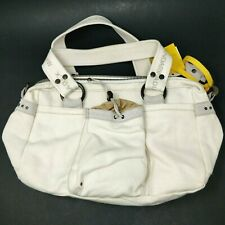 Mandarina Duck K8T01610 Cream Canvas Tracolla Bianco Shoulder Bag