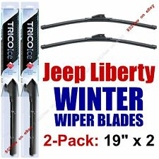 2002-2013 Jeep Liberty WINTER Wipers 2-Pack Premium Beam Snow Ice Cold - 35190x2