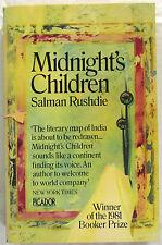 SIGNED Midnight's Children Salman Rushdie 14th Ed SC 1983  SCARCE Signed.