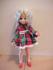 1970 Ideal Velvet Doll  Crissy Family Look Around Outfit & Shoes Pretty