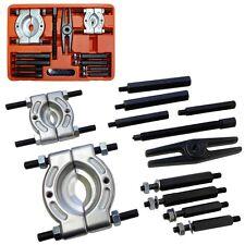 12pc Bearing Separator Splitter Puller Set 30 - 50 & 50 - 75mm  Extensions Tool