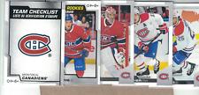 2020-21-O-Pee-Chee-Team Set -Montreal Canadiens-Checklist & Rookie-Price- 9-Club