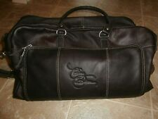 Celine Dion Vip Package Las Vegas Leather Carry Bag 19X6X8 New
