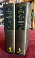 SIGNED Limited Edition 2 X Collected Works Ken Wilber Esoteric Psychology Books