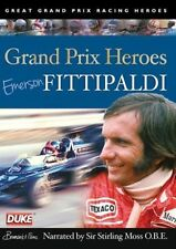 Emerson Fittipaldi - Grand Prix Heroes (New DVD) Narrated by Sir Stirling Moss