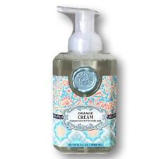 Michel Design Works ORANGE CREAM Foaming Hand Soap + Shea Butter + Aloe Vera