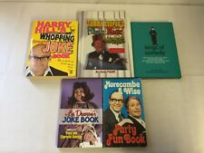 5x Comedian Joke Books Les Dawson Harry Hill Morecambe & Wise Tommy Cooper
