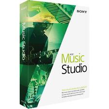 Sony Acid Music Studio 10 Software Recording Editing Audio Effects Midi Loop