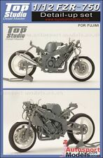 1/12 Yamaha FZR-750 detailing set by Top Studio TD23094 to suit Fujimi kits