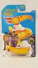 HOtwheels 2015 THe Beatles Yellow Submarine
