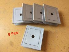 *Box of 9* Gray Uniblock Vinyl Siding Mounting J-Blocks Color 17 Ply-Gem