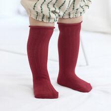 Cute Toddler Baby Kids Knee High Socks Winter Cotton Thicken Warm Sock Xmas Gift
