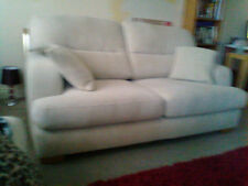 Handmade Fabric Solid Double Sofas