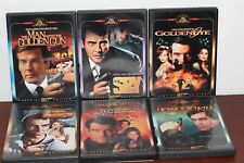 JAMES BOND 007  DVD COLLECTION  LOT OF 6