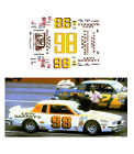 98 Levi Garrett 1981 1/64 scale decal AFX Tyco Lifelike Autoworld
