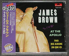 James Brown live at the Apollo vol 2 COMPLETE CD POLYDOR Giappone NEW SEALED NUOVO