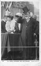 POSTCARD  ROYALTY    King   Edward  VII  &  Queen  Alexandra