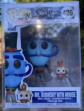 Coraline - Mr. Mr Bobinsky with Mouse #426 Funko Pop Vinyl New in box +PROTECTOR