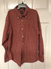 Gap Boys Size Medium 7/8 Long Sleeved Cotton Dress Shirt