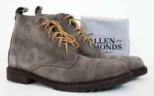 Allen EdmondsTaupe Normandy Cap-Toe Suede Leather Boots Sz 11.5D 11.5