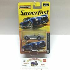 Matchbox Superfast #16 1965 Shelby Cobra 427 S/C silver limited o 15,500 (T5)