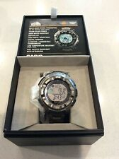 Casio Men's Watch Pro Trek Pathfinder Atomic Moon Phase Titanium Band PRW2500T-7