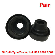Universal Housing Seal Cap Dust Cover For Car H4 H13 9004 9007 HID LED Headlight
