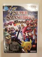 Super Smash Bros. Brawl (Wii, 2008) Tested - Free Shipping! No Manual