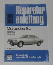 Reparaturanleitung Mercedes R107 / C107 / 107: 280 / 350 / 450 SL + SLC