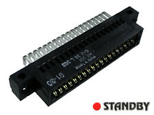 1pc 38 pin/ way (2x19) CARD EDGE pitch 2,54mm angled 90° 642 38 L 363 CONNECTRAL