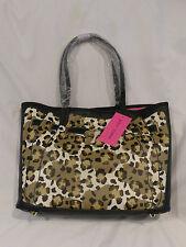 Betsey Johnson Leopard Print Illusion Tote Handbag Purse NWT $109 SALE